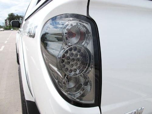 Tail Rear Led Light Lamp Smoke Black Lens Mitsubishi L200 Triton Ml Mn 05-11