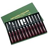 Record Power RPCV12A Schnitzwerkzeug - Set incl. Buch und DVD