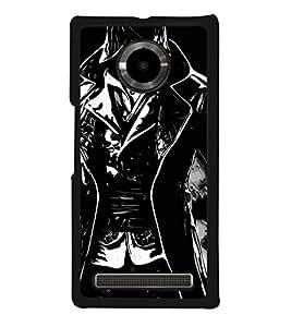 Hero 2D Hard Polycarbonate Designer Back Case Cover for YU Yuphoria :: YU Yuphoria YU5010