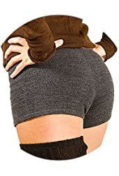 Sexy Low Rise Yoga & Dance Stretch Knit Boy Shorts by KD dance New York Made USA