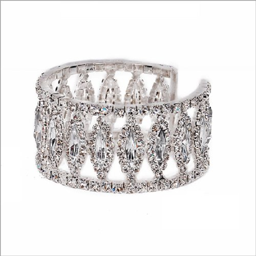 Rhinestone Cuff Bracelet #030781