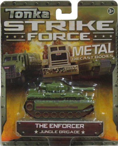 Tonka Strike Force Metal The Enforcer Jungle Brigade - 1