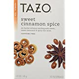Tazo Sweet Cinnamon Spice Herbal Tea 20 Bags (Pack of 2)