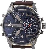 Diesel - DZ7314 - Montre Homme - Quartz Chronographe - Bracelet Cuir Marron
