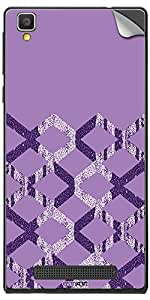 GsmKart XOH Mobile Skin for Xolo Opus Hd (Purple, Opus Hd-561)