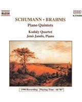 Schumann - Brahms : Quintettes pour piano
