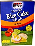 Paskesz Thin Rice Cake Mini, Plain, 4.2-Ounce Packages (Pack of 12)