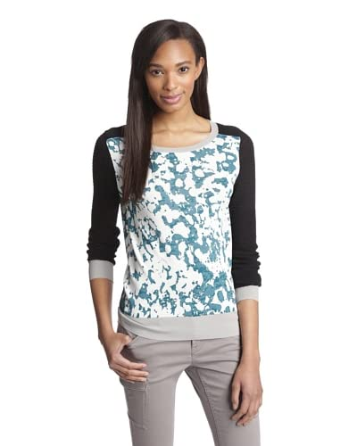 Shae Women's Printed Moto Sweater