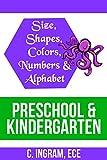 Size, Shapes, Colors, Numbers and Alphabet, Preschool and Kindergarten ECE: A Digital Workbook