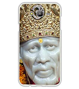 Sai Baba 2D Hard Polycarbonate Designer Back Case Cover for Samsung Galaxy On5 (2015) :: Samsung On 5