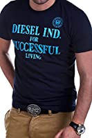 Diesel - DIF - T-shirt avec inscription
