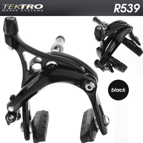 Buy Low Price TEKTRO R539 Fixie Track Road Bike Dual Pivot Brake Calipers Black (R539-PR-BLK)