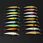 Minnow Fishing Lures Crank Bait with...
