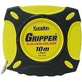 コメロン 鋼製巻尺 グリッパー テープ幅10mm 10M KMC-900R