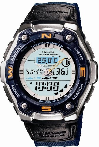 CASIO(カシオ) 腕時計 SPORTS GEAR   スポーツギア ムーンデータ AQW-101BJ-2AJF メンズ