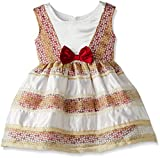 Happy Face Baby Girl's Dress (S255925RD01Y_Multi Color_12-18 months)