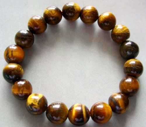 Tiger Eye Gem Beads Tibetan Buddhist Prayer Mala