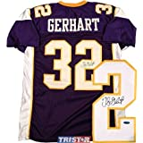 Toby Gerhart Signed Jersey - Custom Purple - Tristar Productions Certified - Autographed... by Sports+Memorabilia