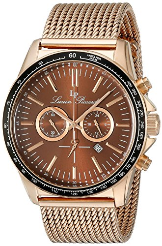 lucien-piccard-fidelity-rose-tone-stainless-steel-chronograph-brown-dial-10056-rg-44