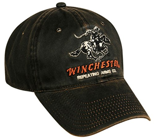 winchester-dark-brown-weathered-repeating-arms-hat
