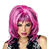 Wig in Cheshire Cat colors