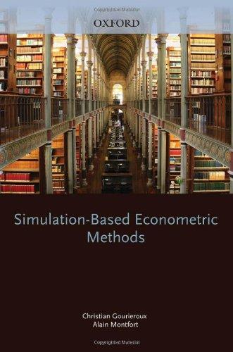 Simulation-based econometric methods