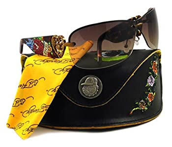 ED HARDY SUNGLASSES EHS 031 SKUNK TORTOISE TATOO