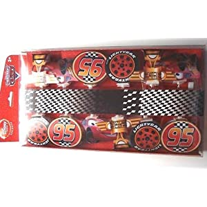 Click to buy Disney Pixar's Lightning McQueen Cars Piston Cup String of Lights from Amazon!