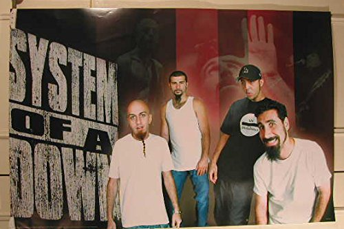 System Of A Down-92 x 61 cm-Poster locandina