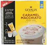 Gevalia Espresso Coffee Cups and Froth Packets, Caramel Macchiato, 9 Count