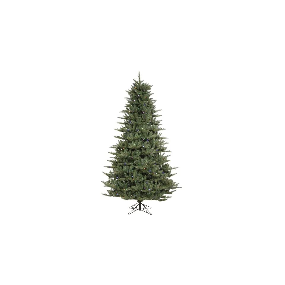 15 x 98 Catalina Frasier Fir Christmas Tree w/ 10977T & 3135 LED Frosted Multi color Lights