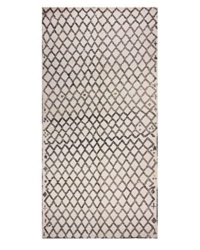 nuLOOM One-of-a-Kind Hand-Knotted Lambert Berber Shag Rug, Natural, 5' 11 x 10' 10
