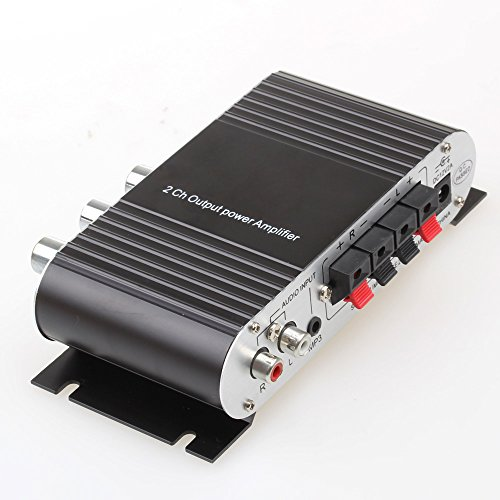 mini amplificatore subwoofer controllo interfaccia 3 5mm. Black Bedroom Furniture Sets. Home Design Ideas