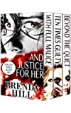 And Justice for Her: Boxed Set of Crime and Romance Thrillers