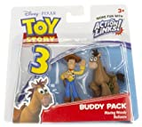 Waving Woody & Bullseye: Toy Story 3 Action Links Mini-Figure Buddy Pack