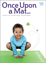 Kids Yoga DVD - Once Upon a Mat - Children Ages 25