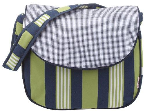 Hoohobbers Messenger Diaper Bag, Lacrosse