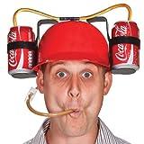 ヘルメットビールを飲み - 冷たい水にお忘れなく!