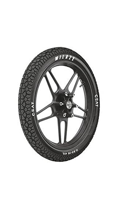 Ceat Milaze P3.00 - 18 Tubeless Bike Tyre, Rear (Home Delivery)