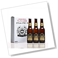 【世界が認めた新潟の地ビール】 スワンレイク クラフトビール ゴールデンスワンレイクエール 3本セット