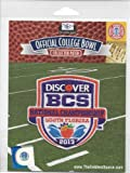 2013 BCS National Championship Patch - Notre Dame vs Alabama