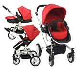 GRACO SYMBIO B COMPLETE TRAVEL SYSTEM -CHILLI WITH, CARSEAT, CHANGING BAG, COCOON FOOTMUFF, CARSEAT RAIN COVER
