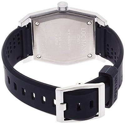 LOCMAN watch stealth classic Quartz Men's 0201 020100CBFRD1GOK Men
