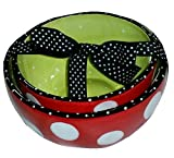 Hits The Spot Nesting Bowls Red Polka Dot