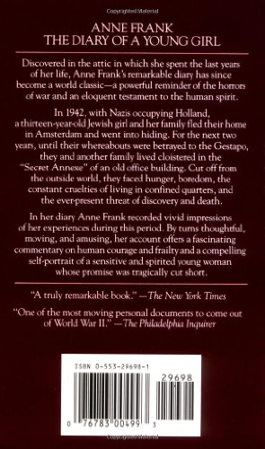 Pdf Anne Frank: The Diary of a Young Girl by Bantam