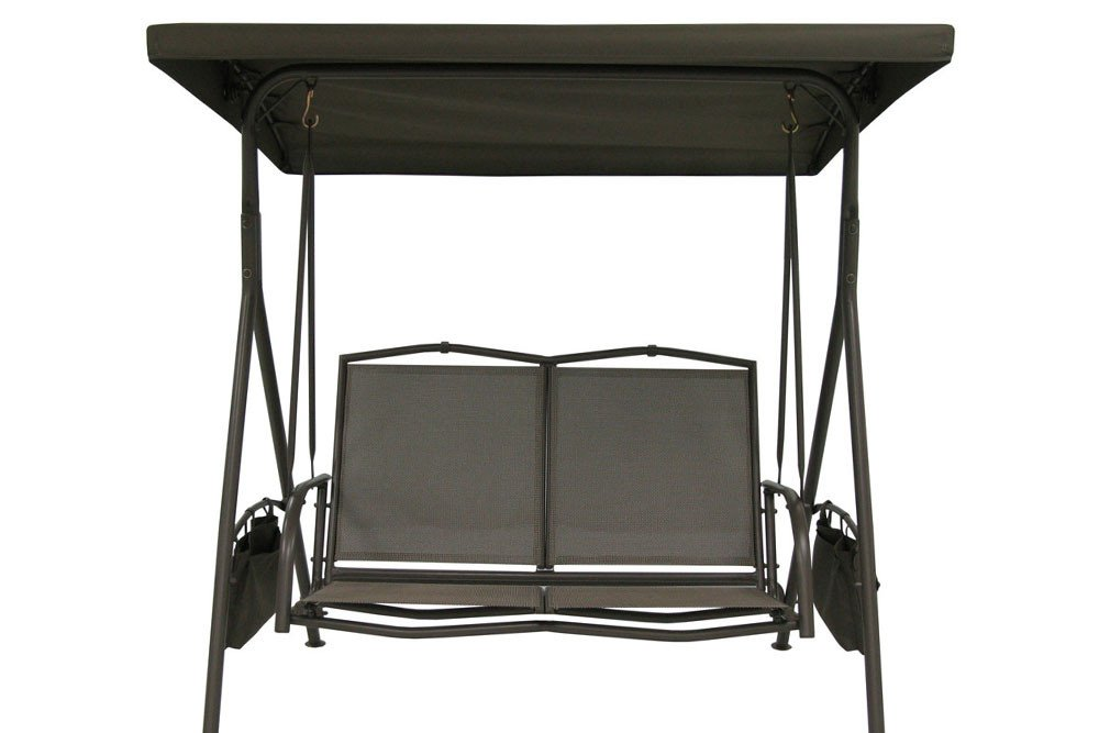 The Outdoor Patio Store Replacement Canopy for Lowes Garden Treasures 2-Seat Steel Sling Swing #SS-909E-1N