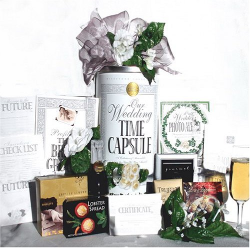 Wedding Gifts For 2 Grooms : romantic gourmet picnic for two wedding time capsule gift set amazon ...