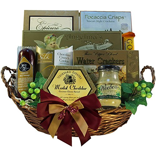 Art of Appreciation Gift Baskets Grand Edition Gourmet Food Basket - MEDIUM (Gift Baskets Prime Shipping compare prices)