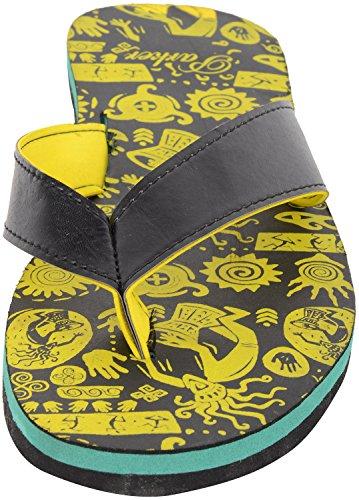 Parker Footwear Men's Rubber Flip-Flops