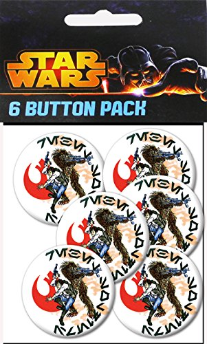 C&D Visionary Star Wars Smugglers 1.5 Inch Button, (6-Piece) - 1